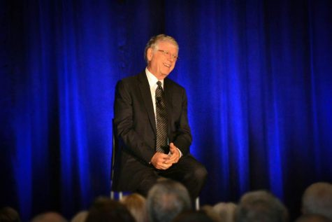 TV journalist Ted Koppel speaks at PNW