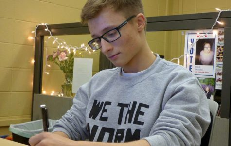 Student's dark past leads to hopeful future