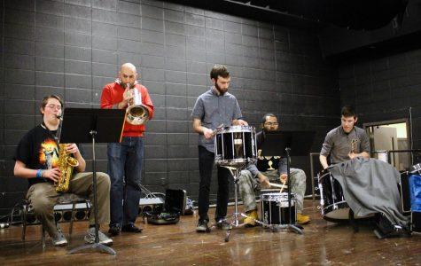 Strength in members: pep band prepares for performance