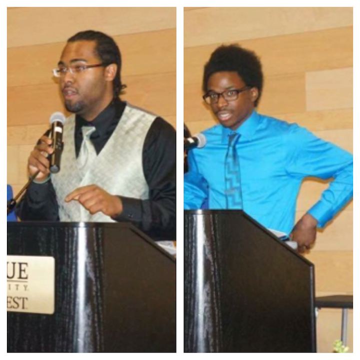 De%E2%80%99Joie+Simmons+%28left%29+and+Daquan+Williams+%28right%29+were+named+SGA+president+and+vice+president.