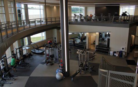 Westville's new fitness center