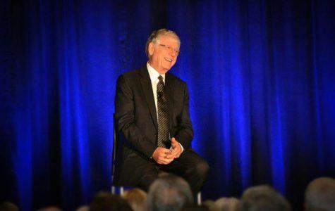 TV journalist Ted Koppel speaks at PNW
