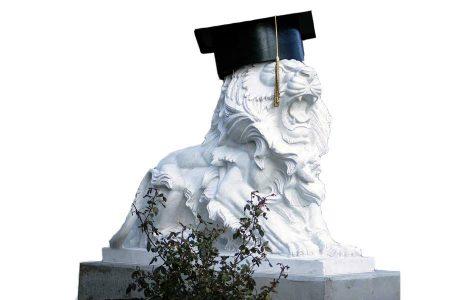 PNW's first graduating class roars