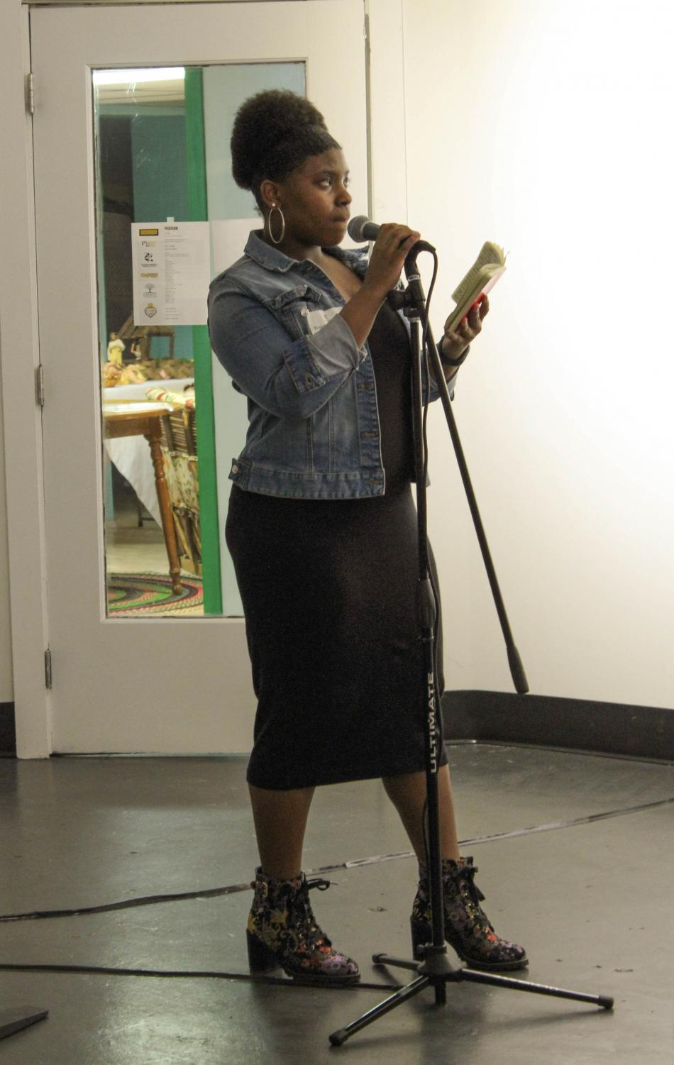 Brookelyn Burks, junior at Merrillville High School, won third place for her performance at the Feb. 15 event.