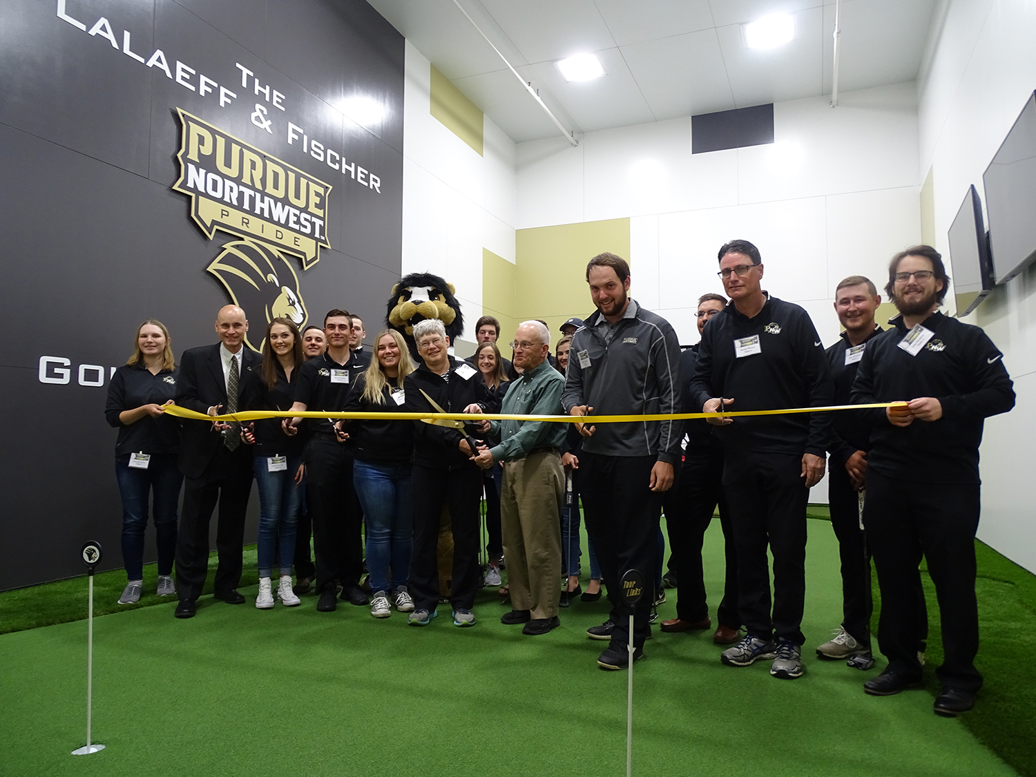 The ribbon cutting ceremony for the new center took place on April 27.