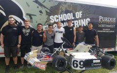 Engineers race to fourth in competition