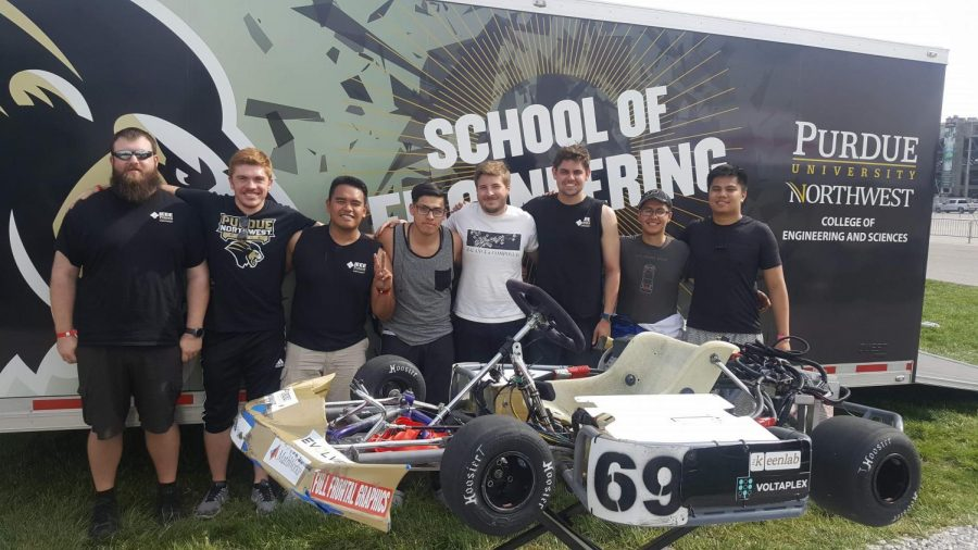 The Institute of Electrical and Electronics Engineers finished in fourth place at the EV Grand Prix in Indianapolis in May.