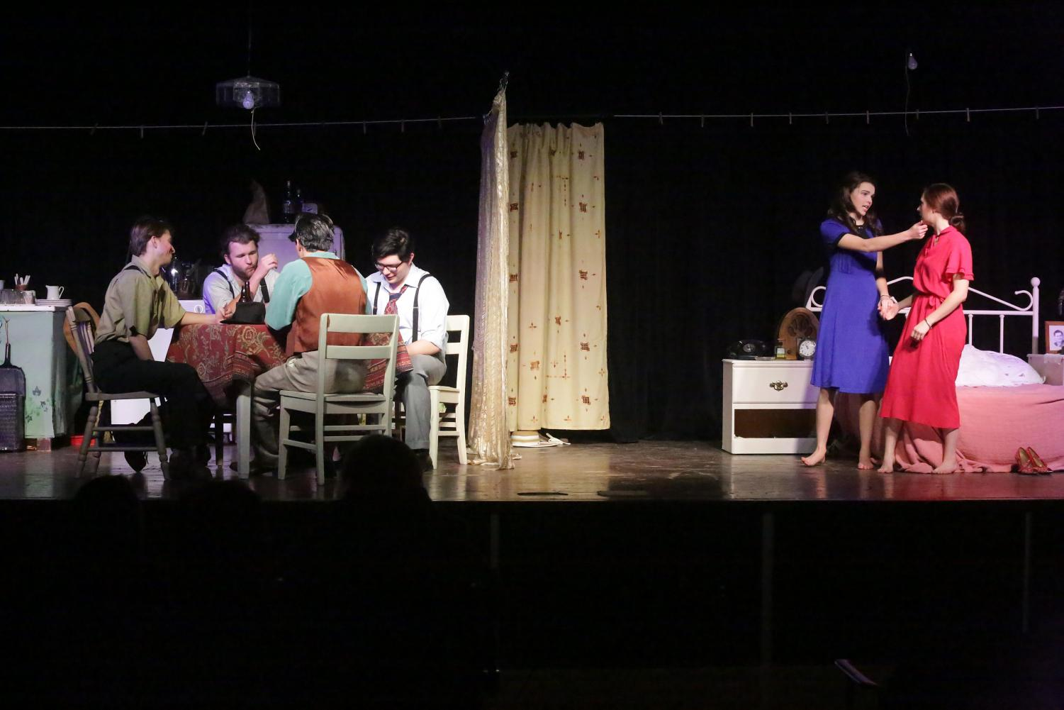 "The cast of ""A Streetcar Named Desire"" brought audiences on an emotional journey on Nov. 16, 17 and 18."