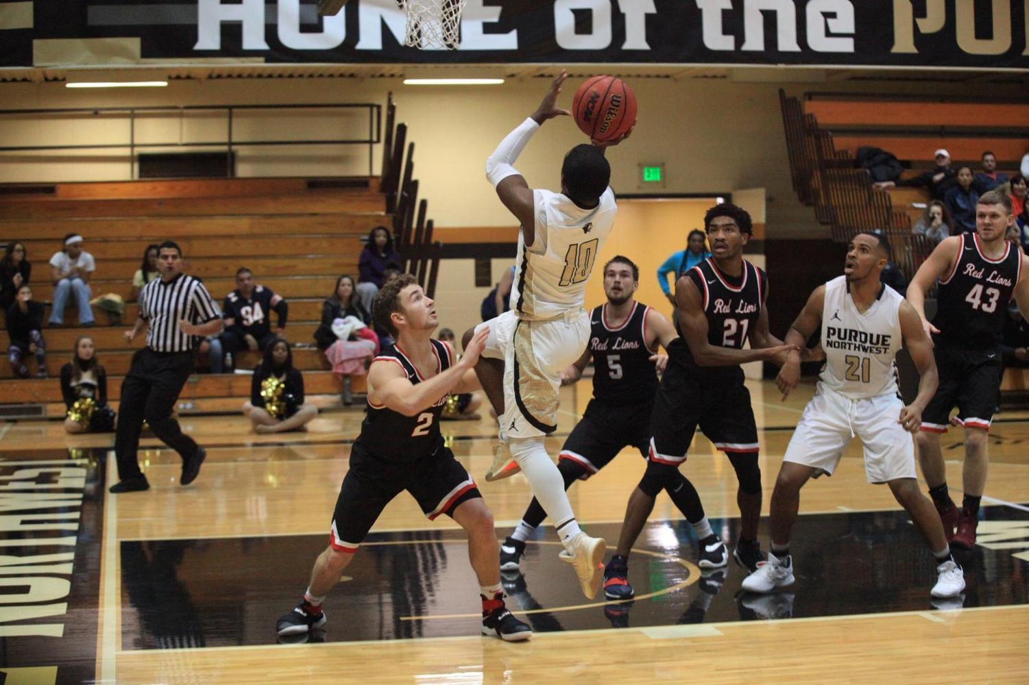Men's basketball won its home opener 113-81 against Lincoln Christian University on Nov. 14.