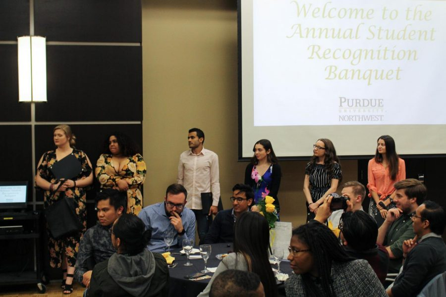 The student employees pf the year are recognized for their dedication and hard work to help daily operations at the university.