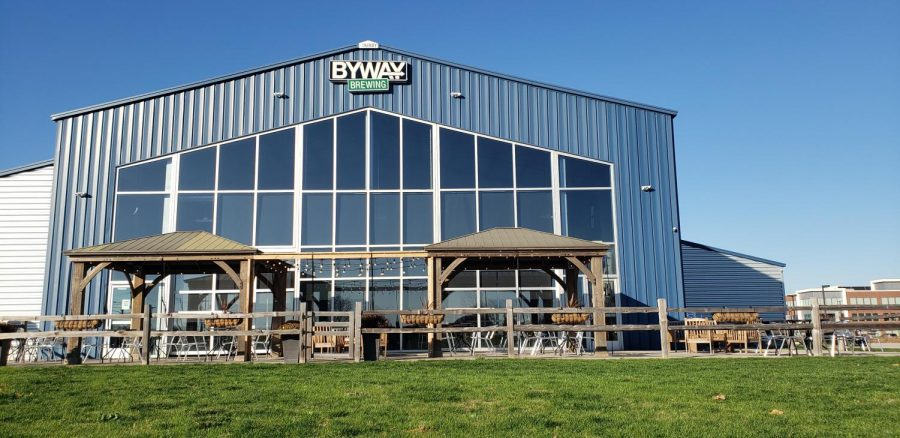 Byway Brewing, located only blocks from the Hammond campus, is the destination for an onsite tasting for the Sales and Service Beverage Operations class. Photo by Shannon Yardley