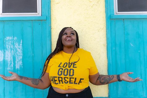 Atlanta-based poet Ashlee Haze will host a Petty Poetry virtual workshop on Feb. 16 to instruct students how to express emotion through words. Source Bass/Schuler Entertainment